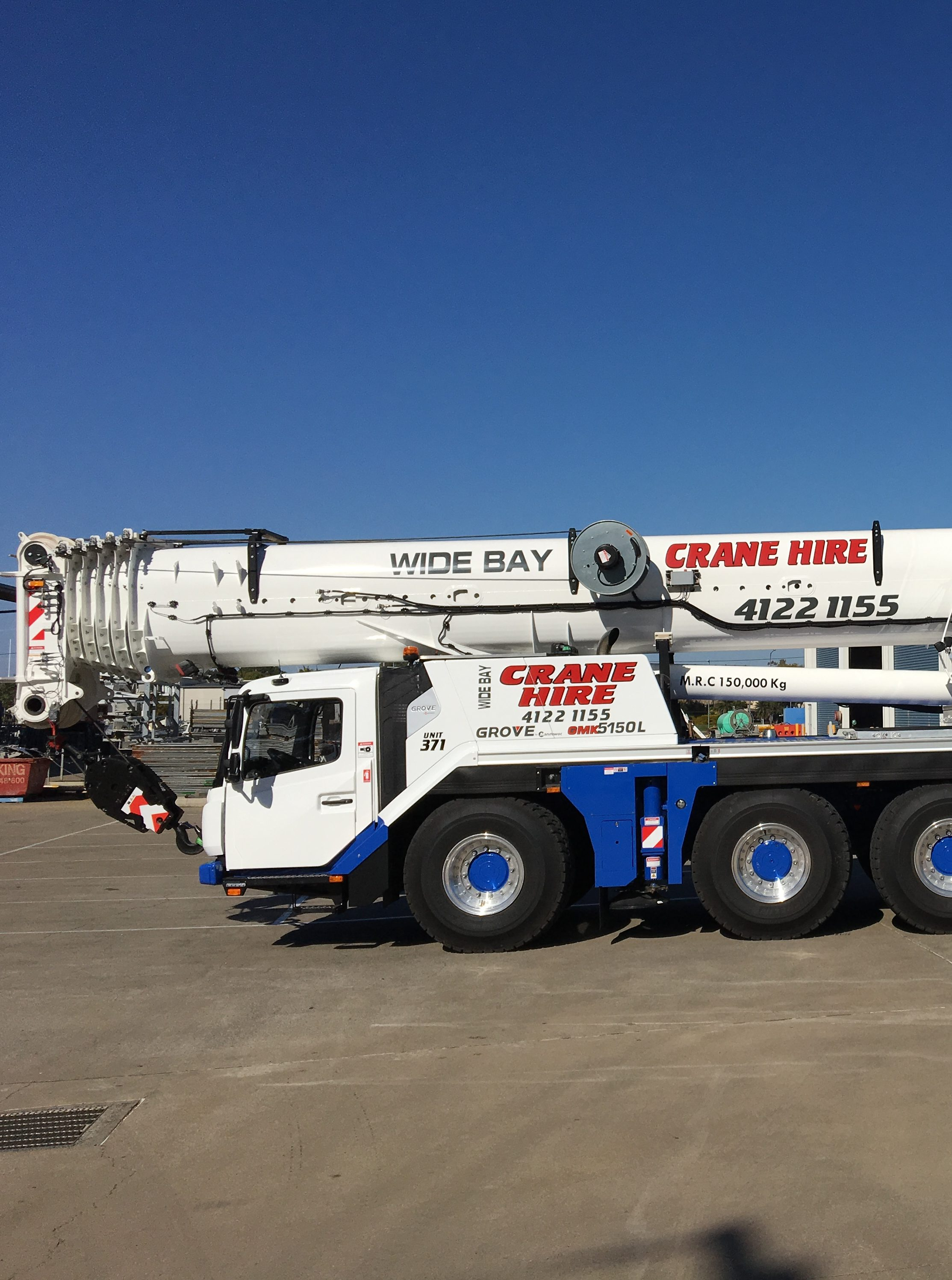 150t Grove All Terrain Crane