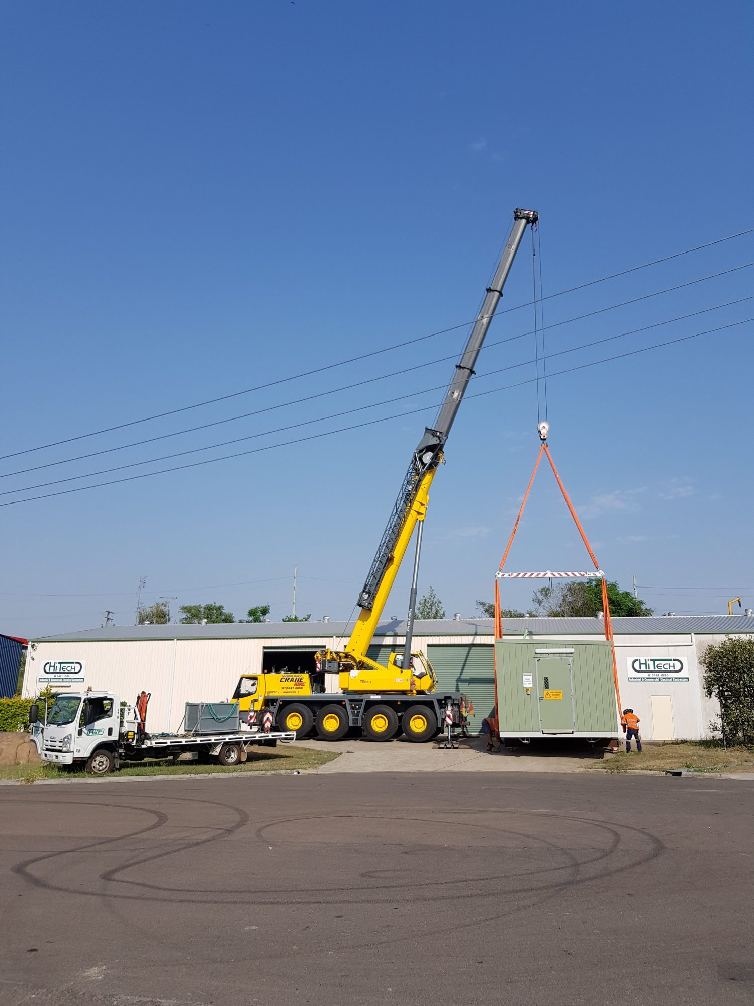80t Grove All Terrain Crane