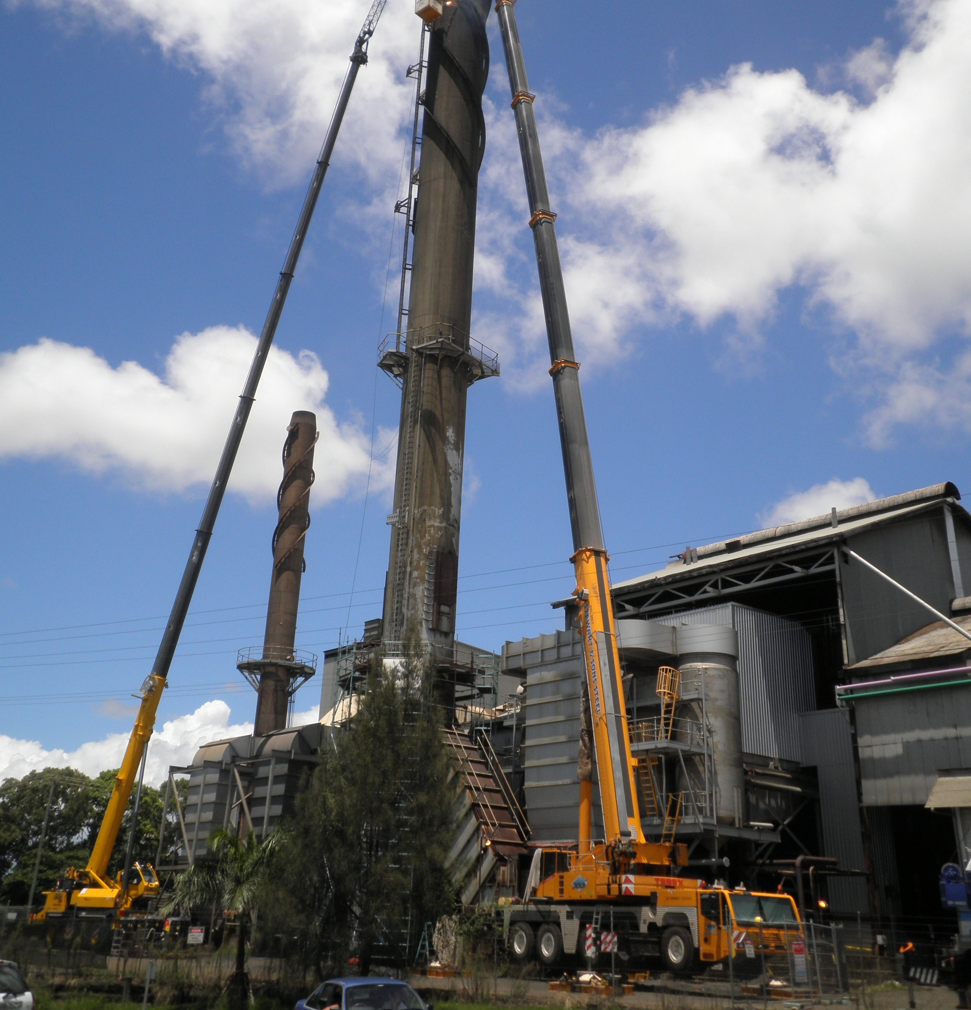 200t Demag All Terrain Crane